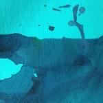 bluePaint t-shirt Detail ブルーペイント ティシャツ ディテール